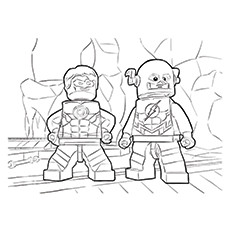 230x230 Top Green Lantern Coloring Pages For Toddlers