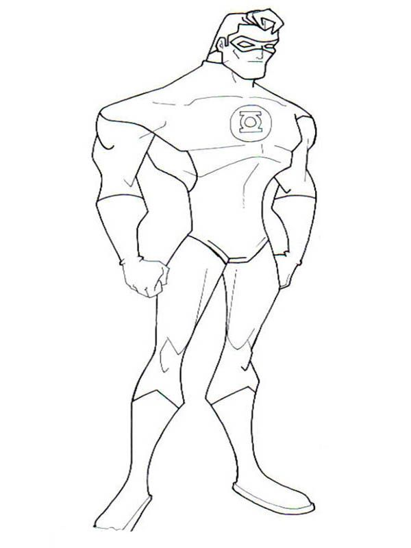 600x800 Download Green Lantern Coloring Pages For Kids Green Lantern