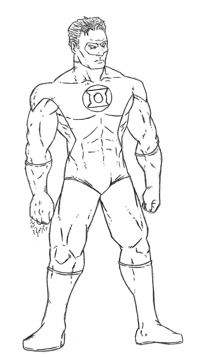 671x1191 Green Lantern Coloring Pages To Download And Print For Free Green