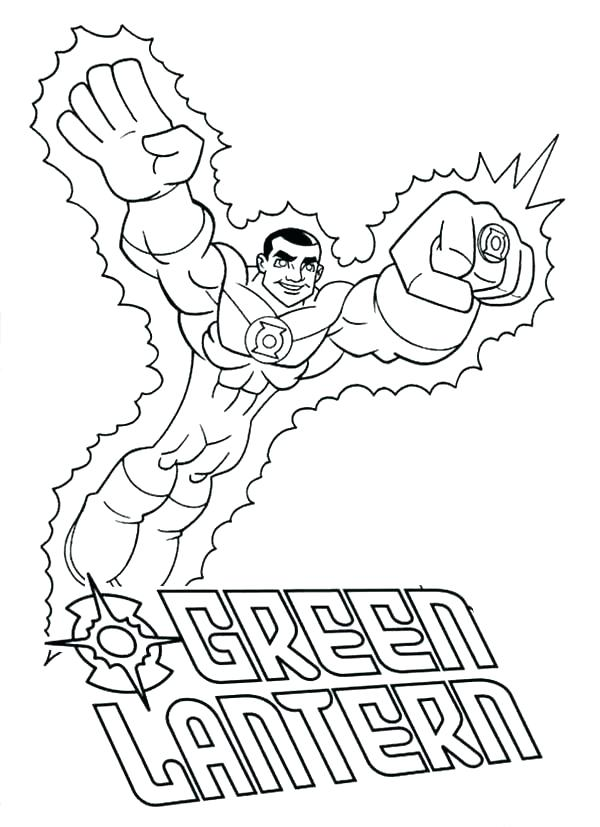 600x827 Green Lantern Coloring Page Coloring Sheet Lantern Coloring Page