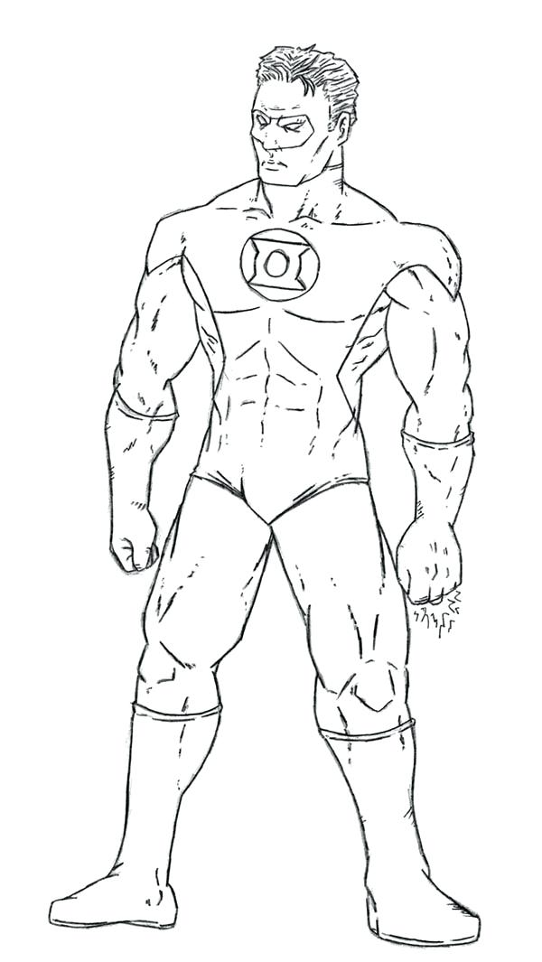 600x1065 Green Lantern Coloring Page Go Digital With Us Green Lantern