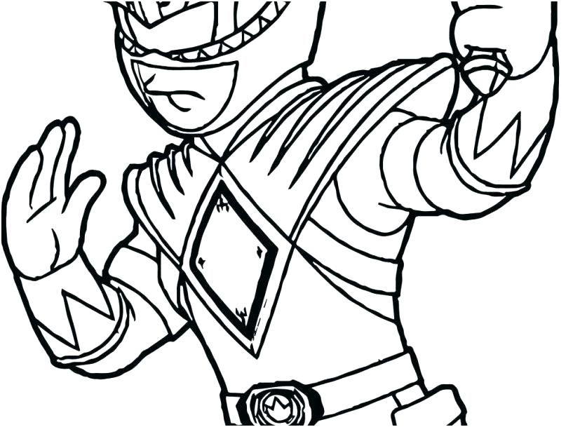 827x609 Power Rangers Coloring Pages Power Ranger Coloring Page Power
