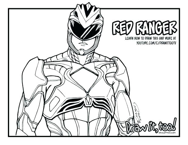 618x477 Power Rangers Green Samurai Coloring Pages Printable Coloring