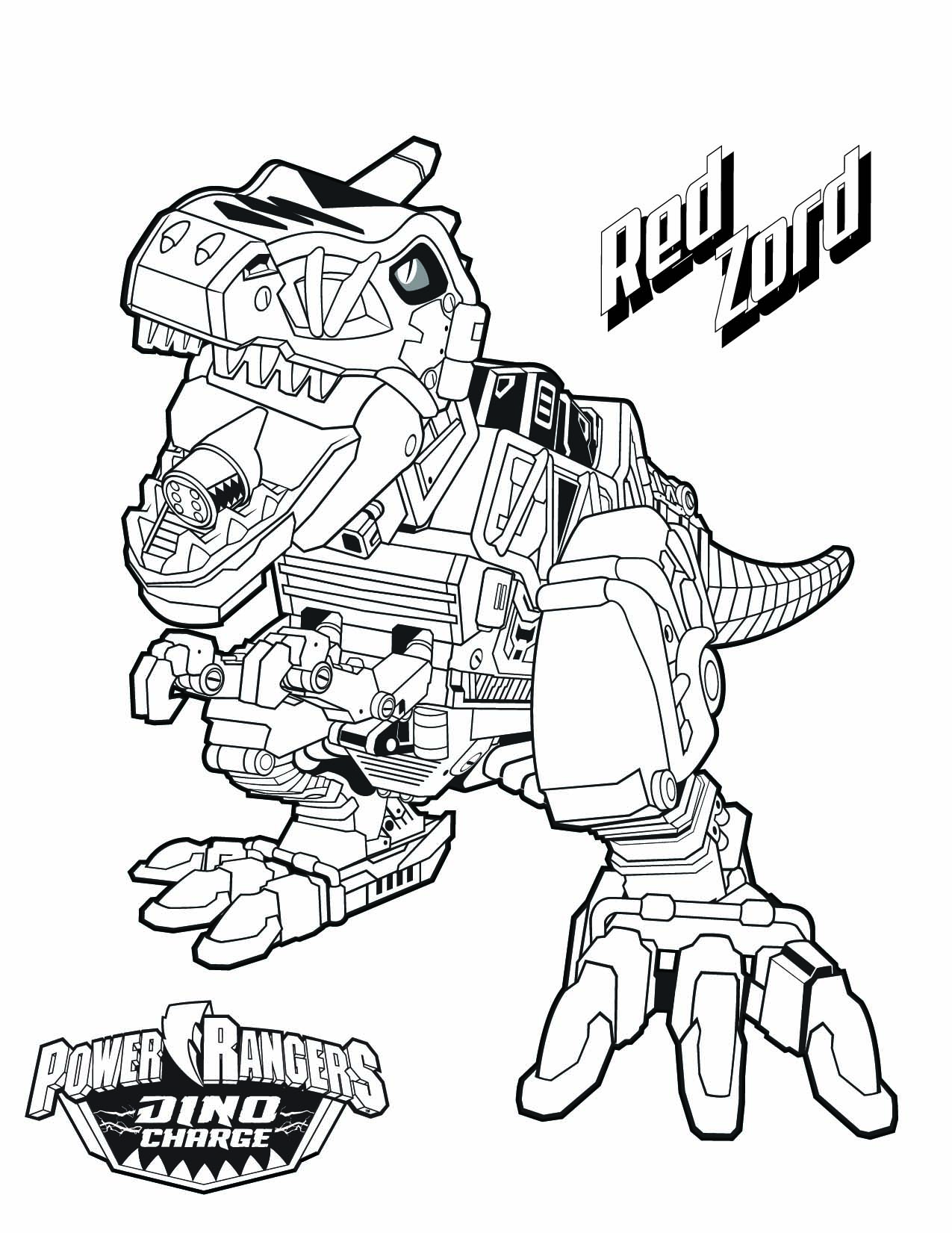 1275x1651 Improved Red Power Ranger Coloring Page Rangers Holding A Sword