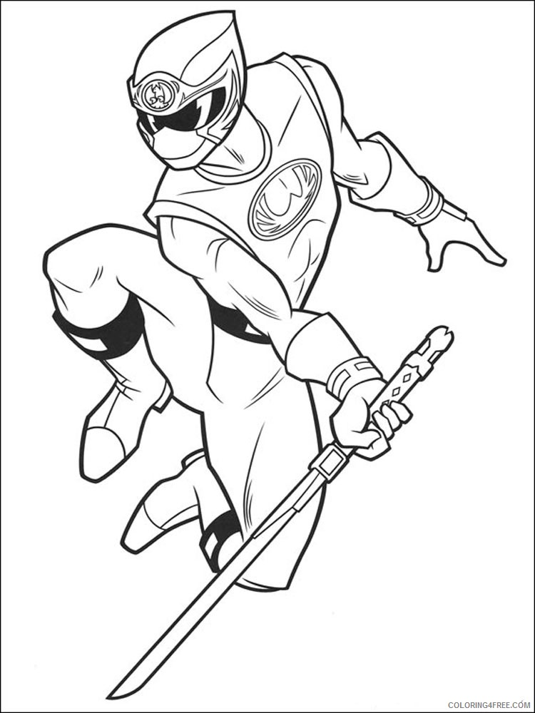750x1000 Power Ranger Coloring Pages Green Ranger