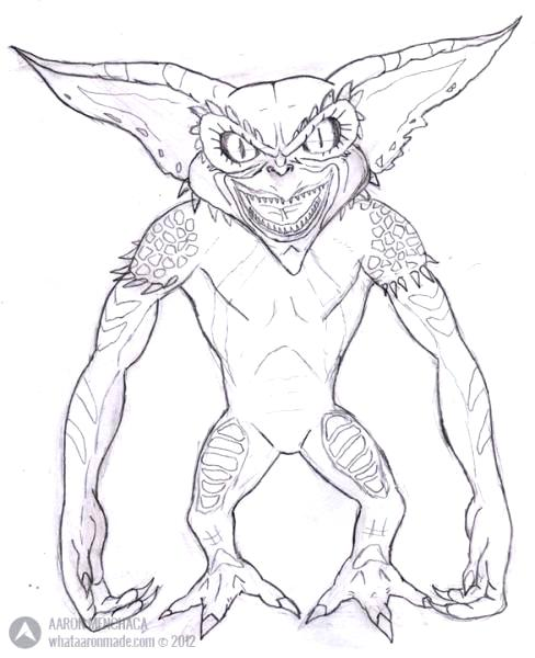 Gremlins Coloring Pages At Getdrawings Free Download
