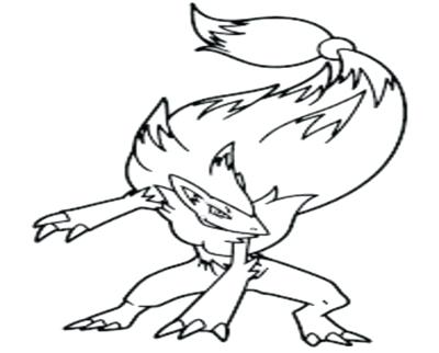 Greninja Coloring Page At Getdrawings Com Free For Personal Use