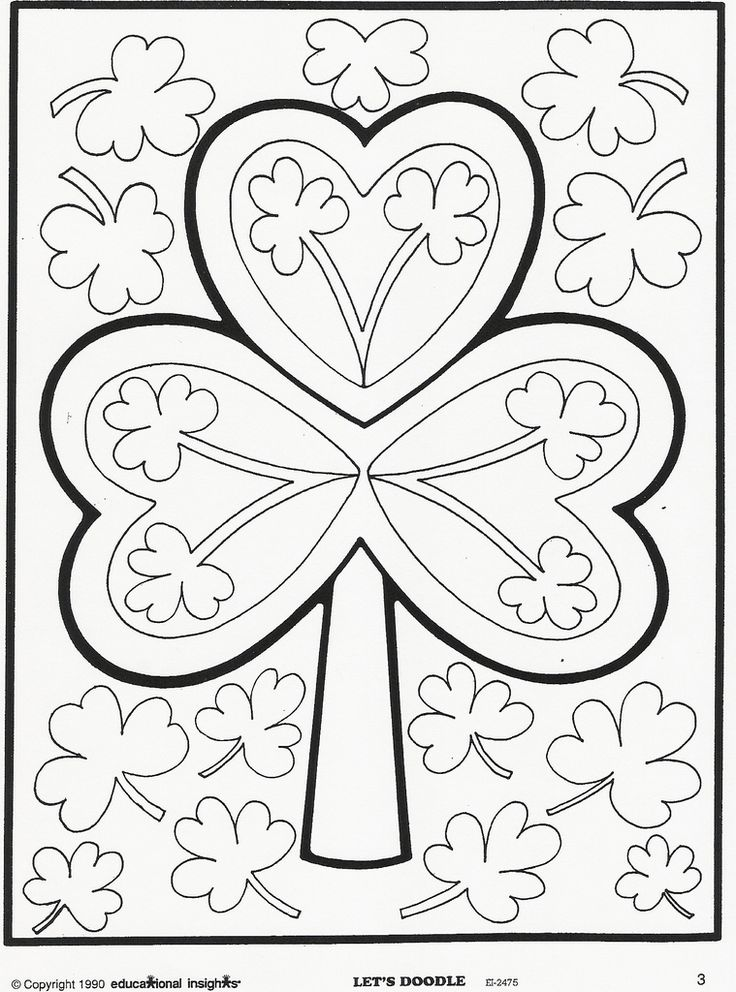 Grid Coloring Pages