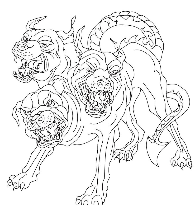 821x864 Unusual Gryphon Coloring Pages For Kids Griffin Greek Mythology