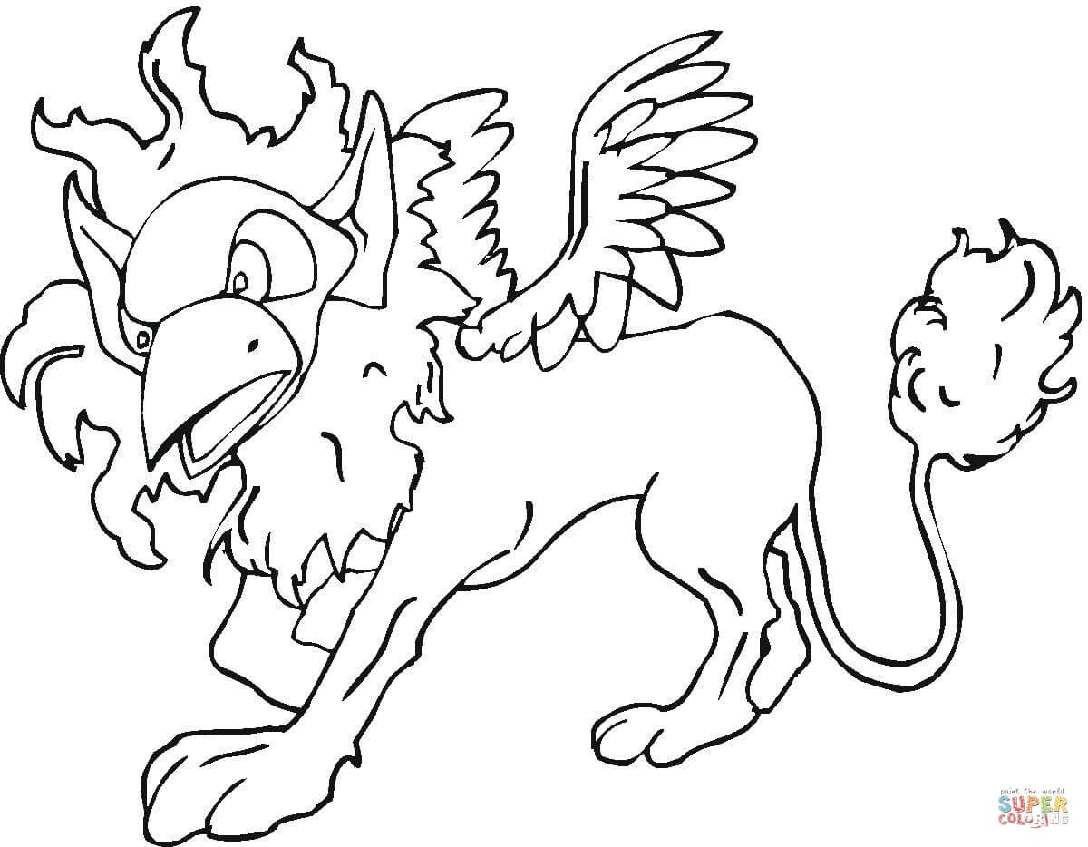 1200x934 Baby Griffin Coloring Pages Fresh Griffin Coloring Page