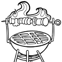 200x200 More Food Page Of Coloring Pages Surfnetkids