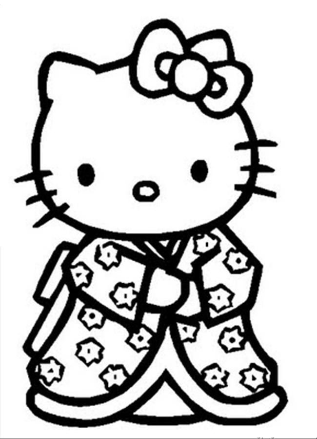 650x899 Best Hello Kitty Coloring Pages Images On Coloring
