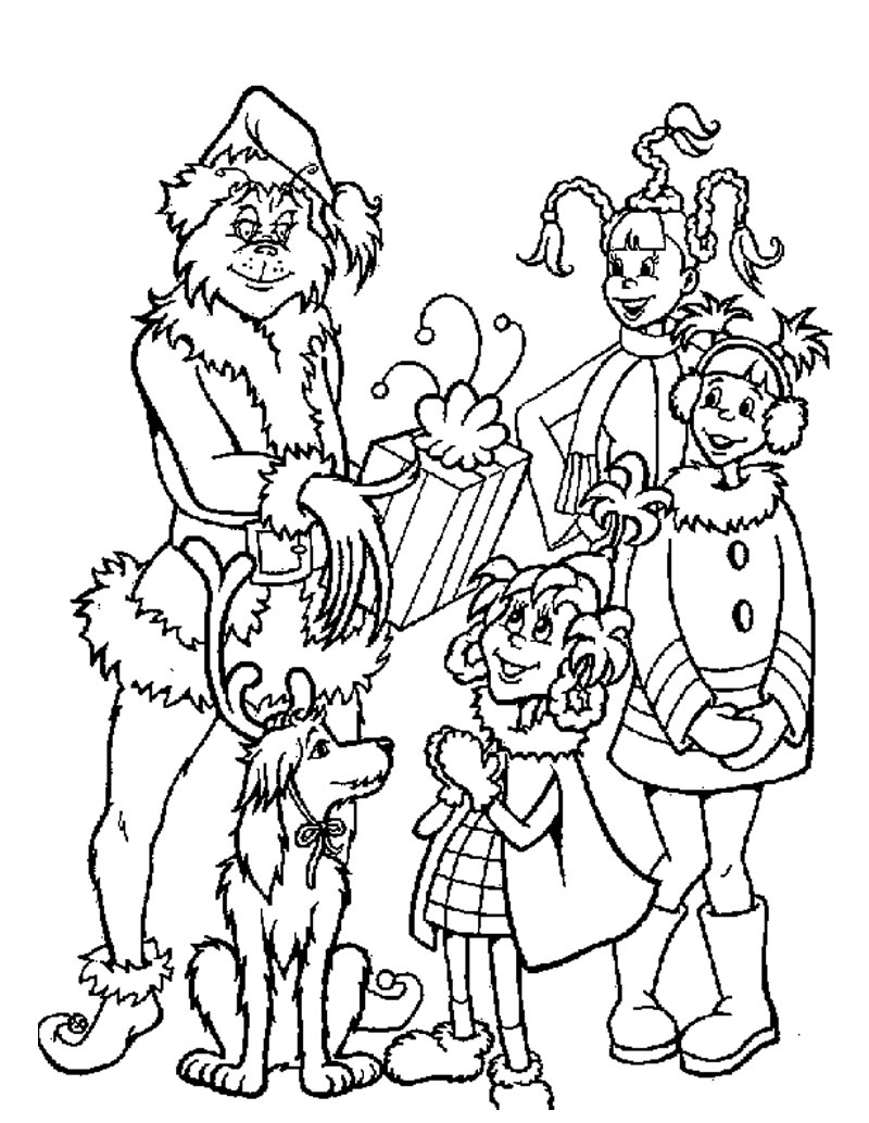800x1034 Portfolio Max From The Grinch Coloring Pages V