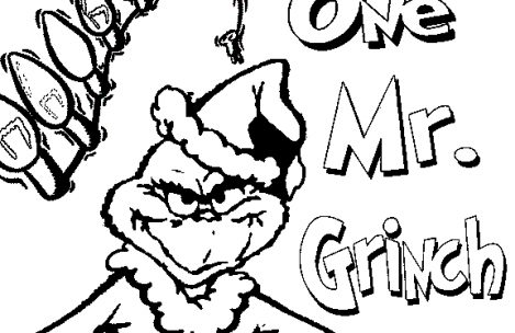 469x304 Grinch Christmas Coloring Pages Just Colorings