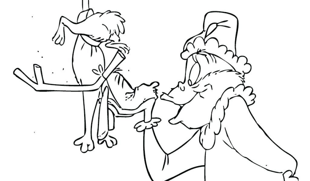1024x600 Cindy Lou Who Grinch Coloring Pages How The Stole Coloring Pages