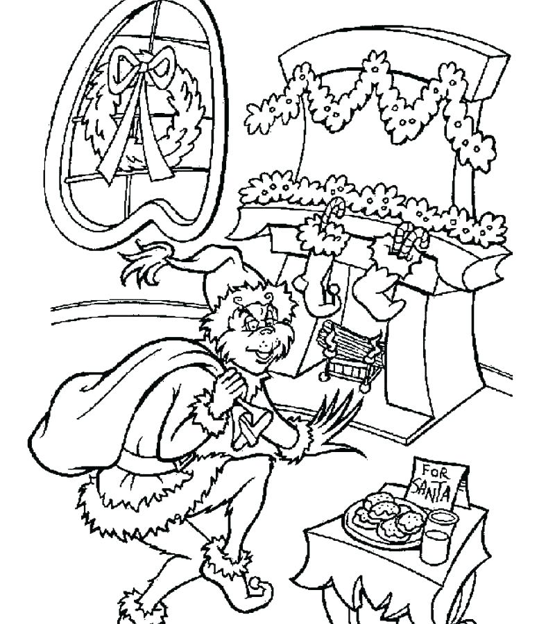 800x900 Grinch Color The Coloring Pages Color Pages Free Printable