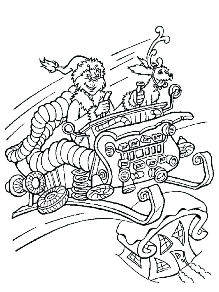 750x1000 Grinch Coloring Page Coloring Pages Free Coloring Pages Coloring