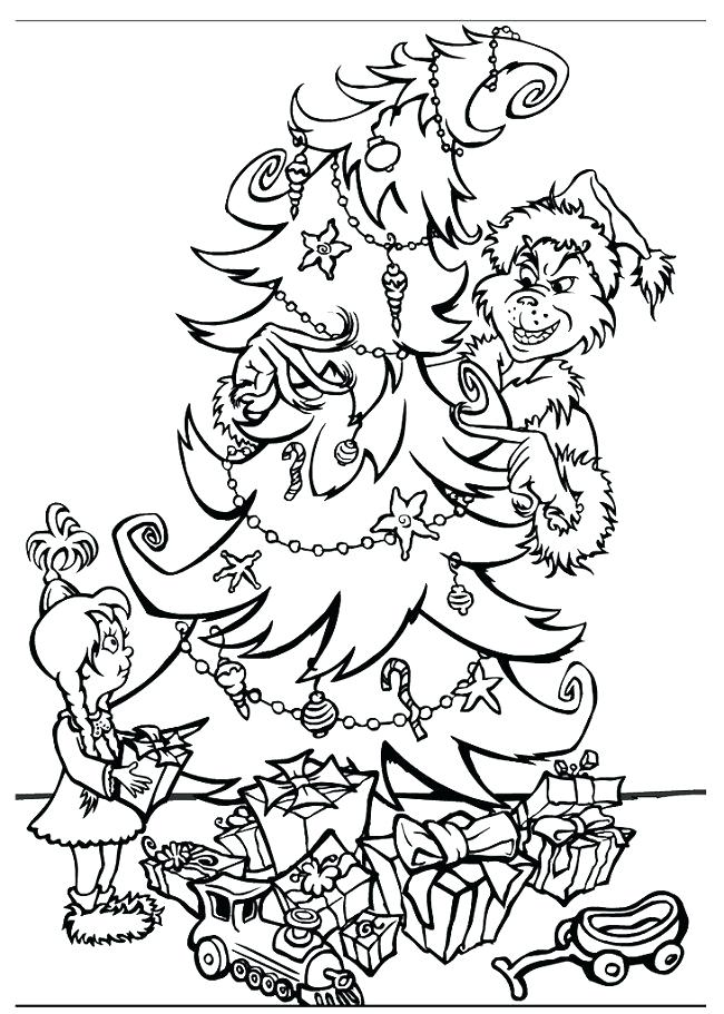 650x911 Grinch Color Pages The Coloring Pages Printable Coloring Free