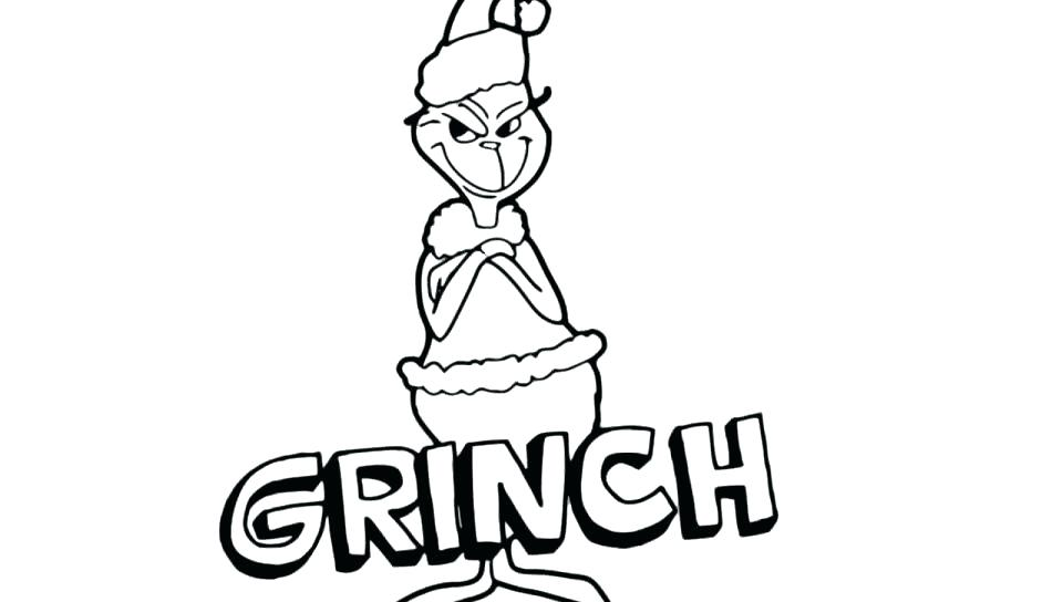 Grinch Face Coloring Pages At Getdrawings Com Free For Personal