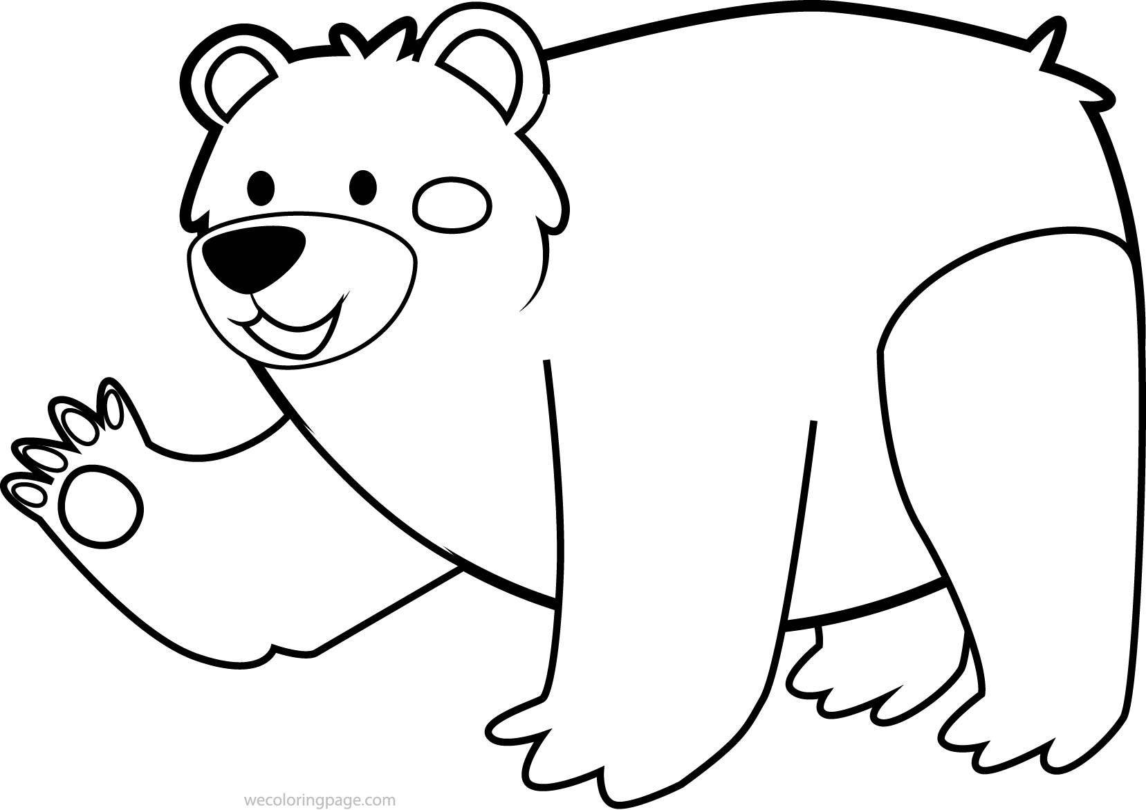 1657x1171 Bear Coloring Page Grizzly Bear Family Coloring Page