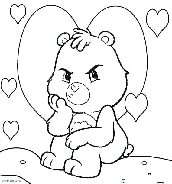 569x609 Coloring Pages Of Bears Grizzly Bear Coloring Pages Amazing Care