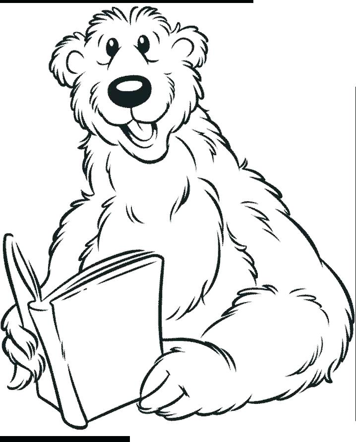 718x892 Grizzly Bear Coloring Pages Grizzly Bear Colori Page Grizzly Sheet