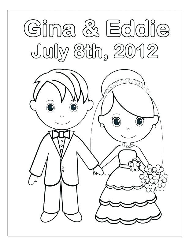 618x800 Corpse Bride Coloring Pages Bride And Groom Coloring Page Bride