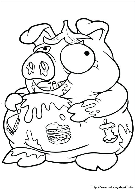567x794 Grossery Gang Coloring Pages Plus New Gang Coloring Pages Or Gross