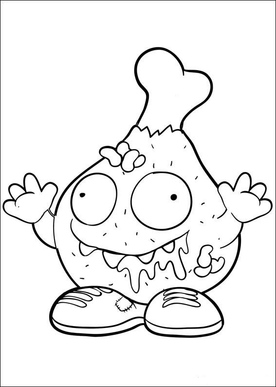 Grossery Gang Coloring Pages