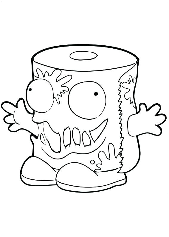 567x794 Grossery Gang Coloring Pages Gang Coloring Pages Season Poster