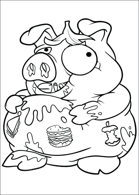 567x794 New Grossery Gang Coloring Pages Or Gross Monster Coloring Pages