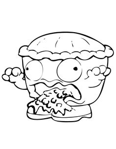 236x305 Trash Pack Coloring Page Trash Pack Party Trash Pack