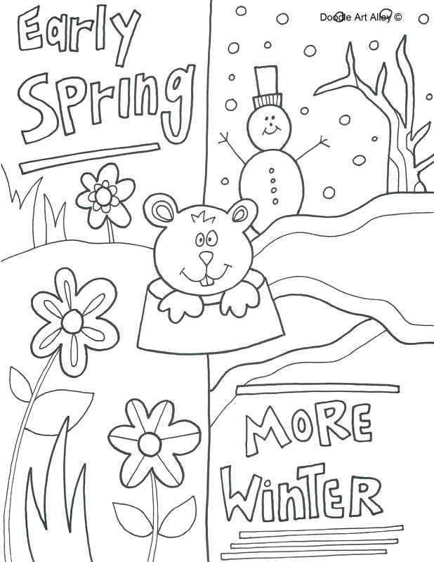 618x800 Groundhog Coloring Pages Coloring Pages Groundhog Day Groundhog