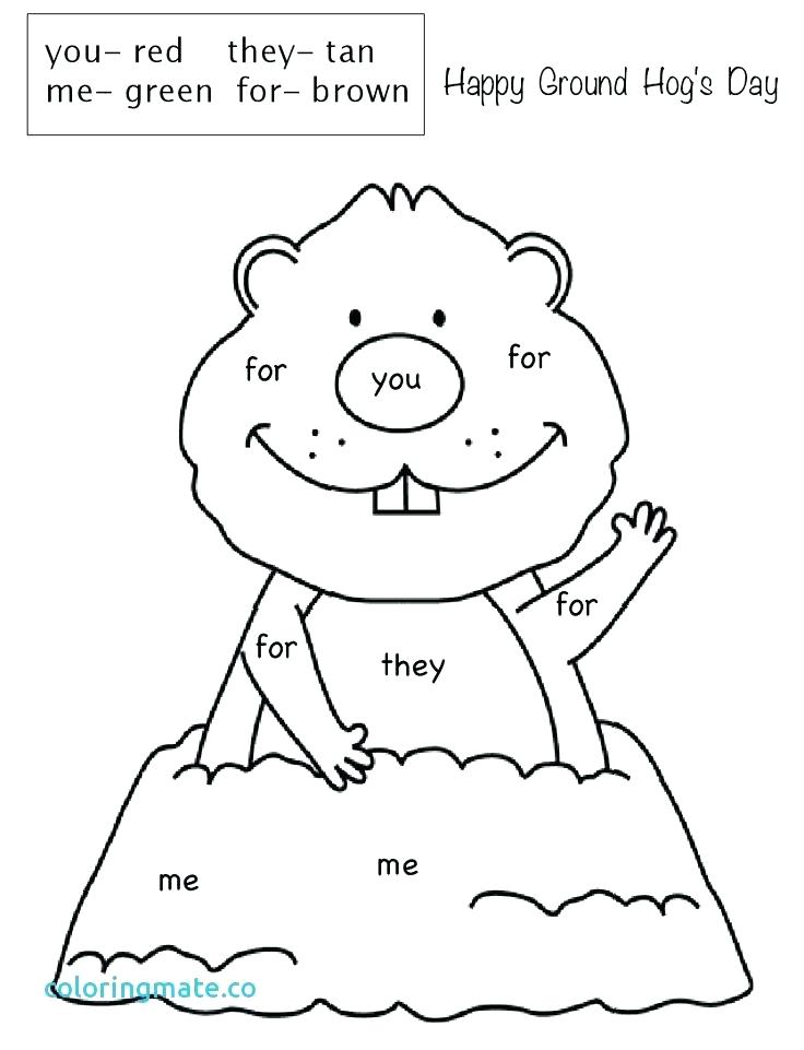 736x961 Groundhog Coloring Pages Coloring Page Groundhog Coloring Pages
