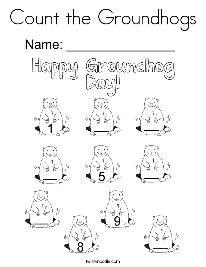 685x886 Modest Decoration Groundhog Day Coloring Pages Happy Groundhog Day