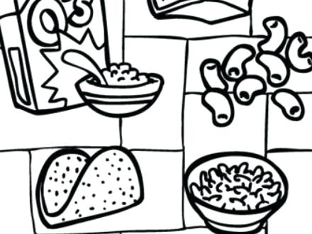 440x330 Luxury Food Group Coloring Pages Or Grains Food Group Coloring
