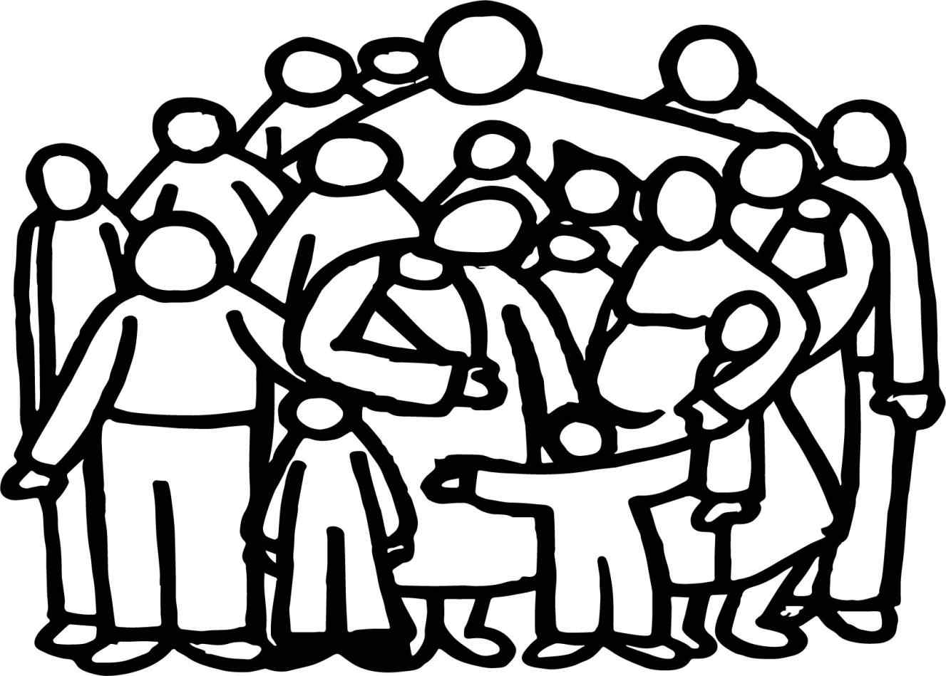 1327x949 Group Of People Coloring Pages Online Coloring Printable