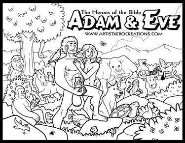 375x291 The Heroes Of The Bible Coloring Pages On Behance