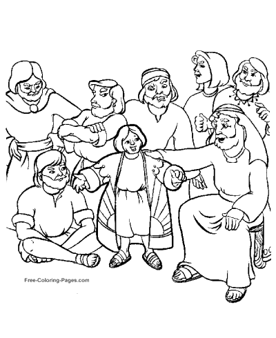 400x490 Bible Coloring Pages