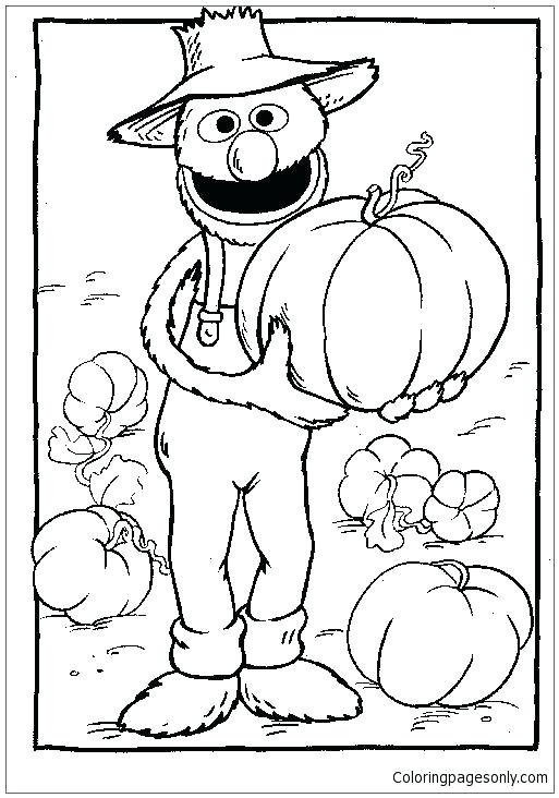513x732 Coloring Pages Sesame Street Sesame Street Coloring Pages High