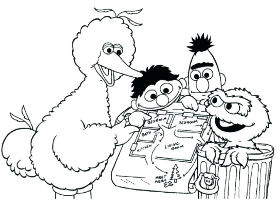 940x705 Grover Coloring Page Sesame Street Coloring Pictures Sesame Street