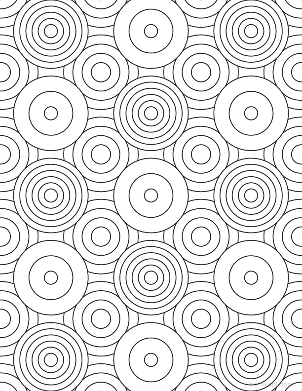 612x792 Grown Up Coloring Pages