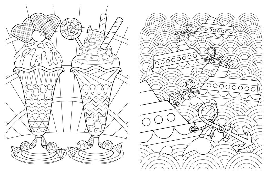 1024x671 Posh Adult Coloring Book Artful Designs For Fun Relaxation