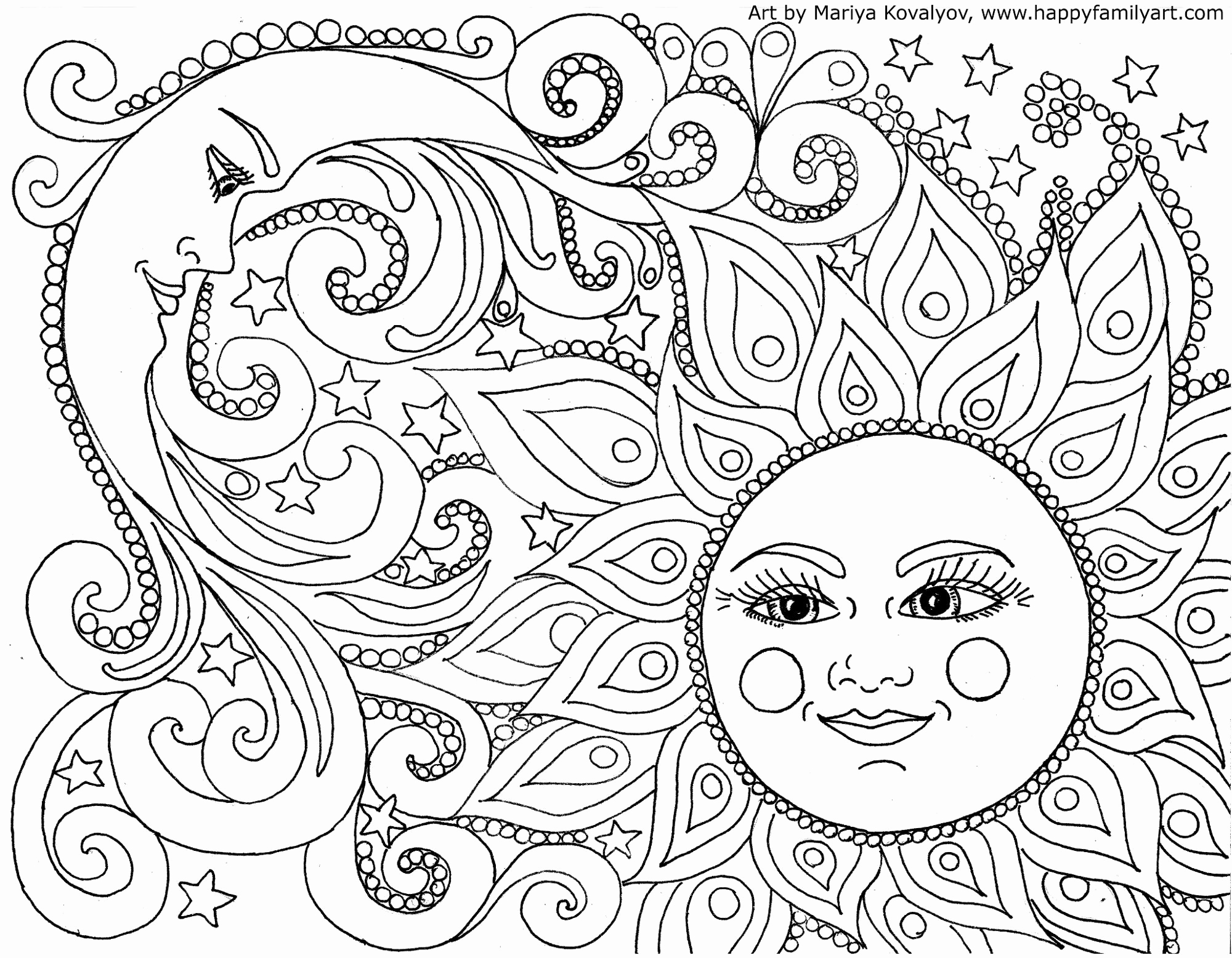 2000x1556 Free Printable Pictures To Colour Awesome Original And Fun