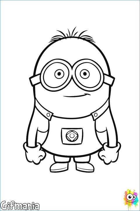 480x720 Gru And Minions Despicable Me Coloring Pages