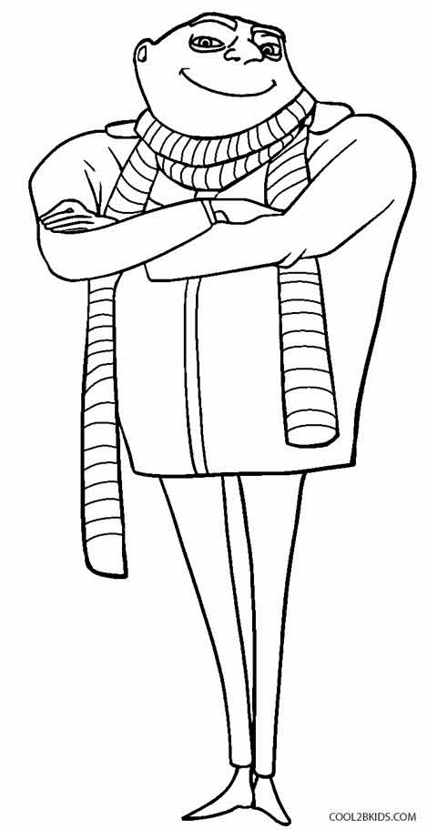 469x912 Gru Coloring Pages Printable Despicable Me Coloring Pages For Kids