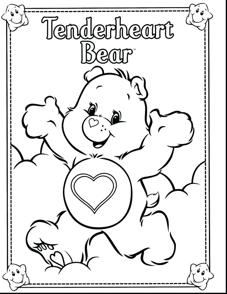 728x942 Care Bear Coloring Page Last Updated Lucky Care Bear Coloring