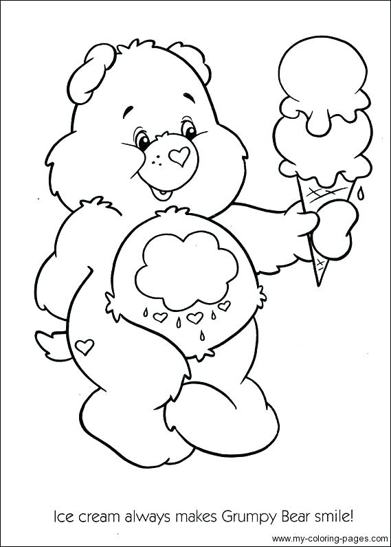 569x796 Care Bears Coloring Pages Bear Search Print Murs