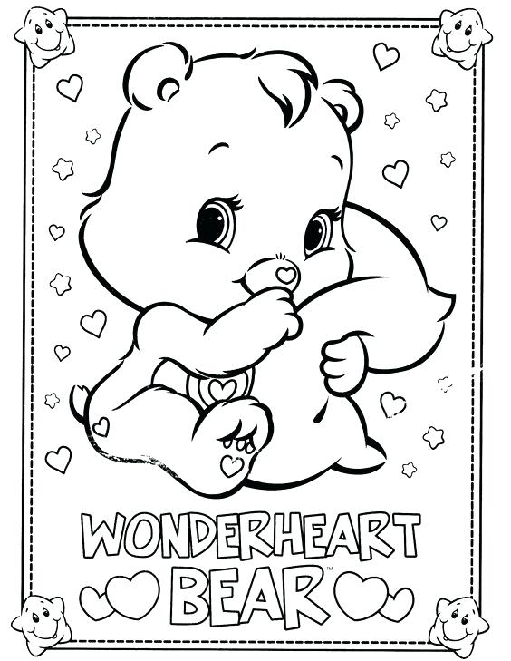 564x729 Care Bears Coloring Sheets Printable Colouring To Sweet Paint