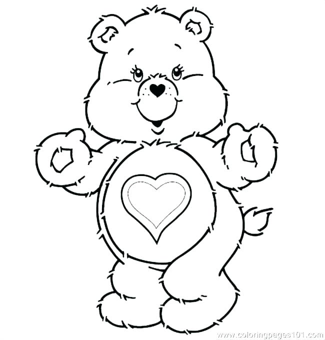 650x680 Care Bears Printable Colouring Pages Coloring T Page Free Grumpy